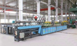 Bar heat treatment furnace