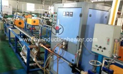 Bright heat treatment furnace