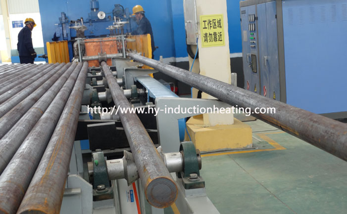 Metal induction heat treatment furnace
