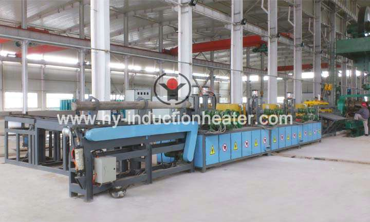 Forging heat treatment furnace