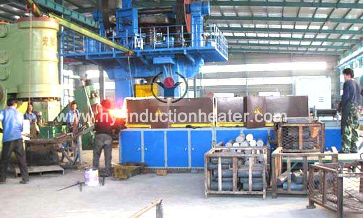 Forging heating furnace