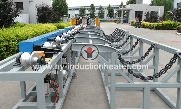 Grinding rod heat treatment