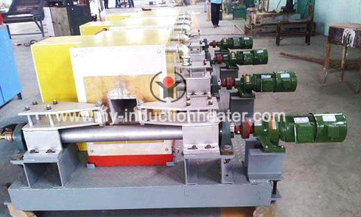 Electric induction heating furnace