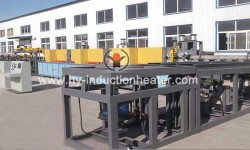 Induction forge heating system