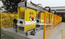 Induction medium frequency furnace