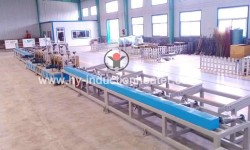 Induction steel bar heating furnace