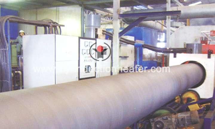 Oil pipeline heat treatment furnace