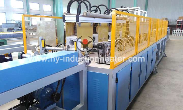 PC steel bar heating production line