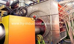 Pipeline hot spraying equipment