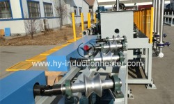 Piston rod heat treatment line
