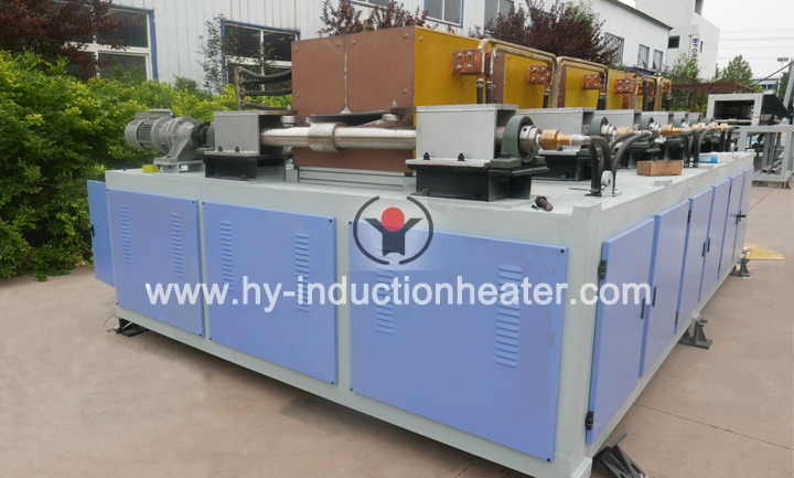 Railway tie plate induction heating