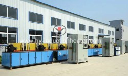 Rebar heat treatment furnace
