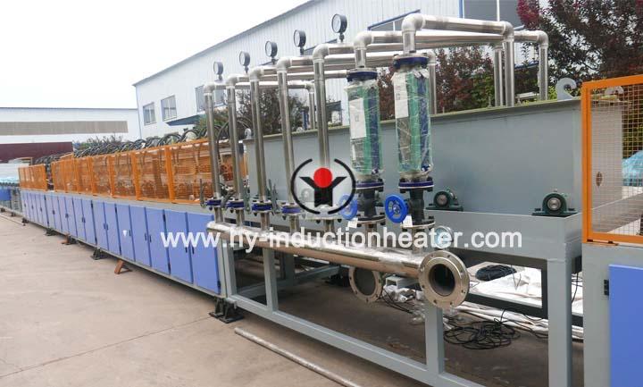 Reinforcing bar heat treatment