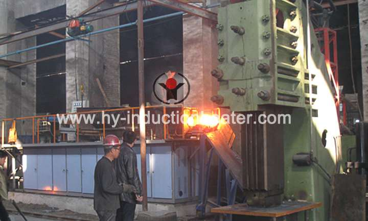 Round bar forging equipment