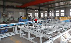 Round bar hardening and tempering line