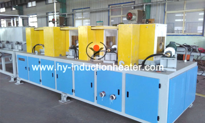 Steel bar heat treatment furnace
