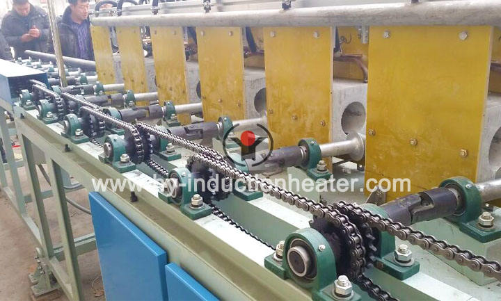 Round bar quenching tempering
