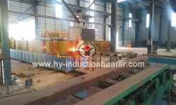 Round billet induction heating