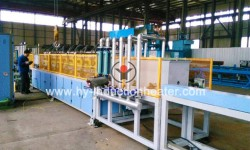 Seamless pipe quenching tempering