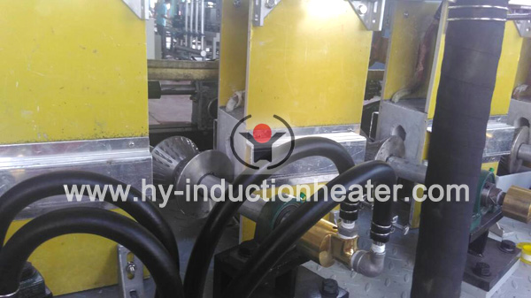 Stabilizer bar heat treatment line