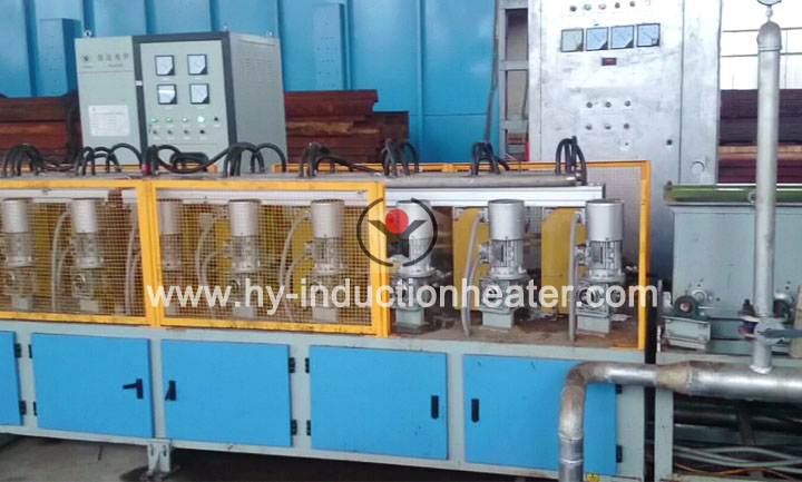 Stainless pipe heat treatment line
