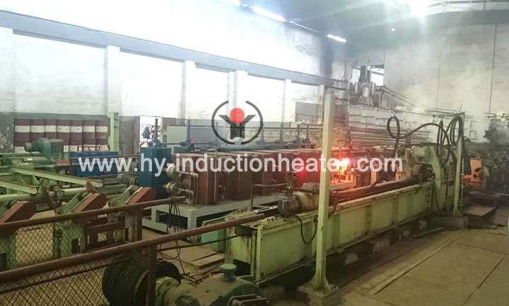 Steel pipe heating furnace