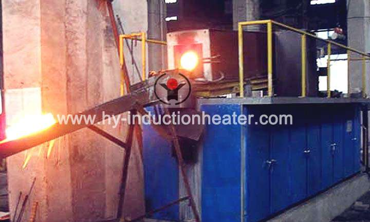 Steel bar heating equipment