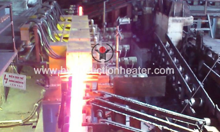Steel billet forging heating furnace