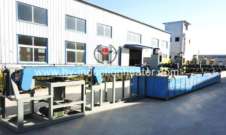Steel billet heat treatment furnace