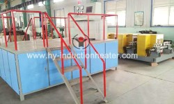 Steel billet heat treatment production line