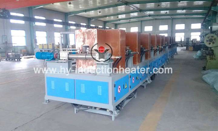 Steel billet heating equipment
