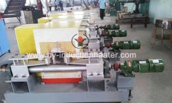 Steel billet induction heating furnace