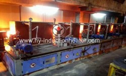Steel billet rolling equipment