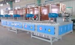 Steel billet temperature compensation furnace