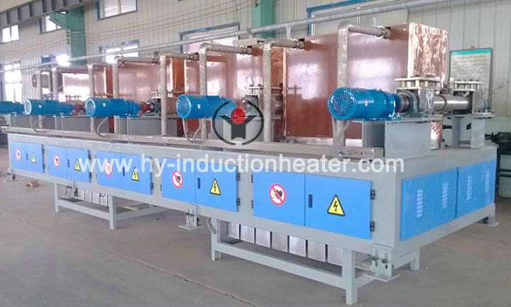 Steel billet temperature compensation furnace