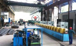 Steel heat treatment furnace