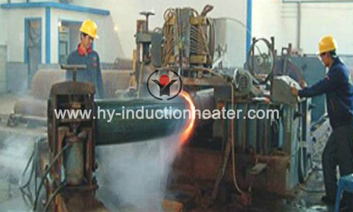 Steel pipe bending heating equipment