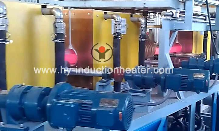 Steel pipe heat treatment furnace