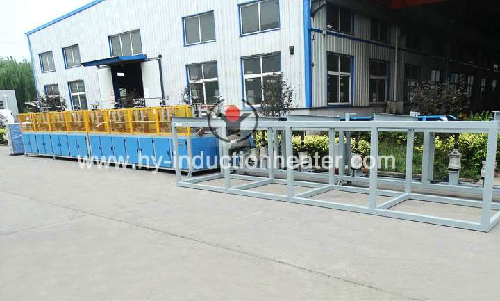 Steel rolling heating equipment