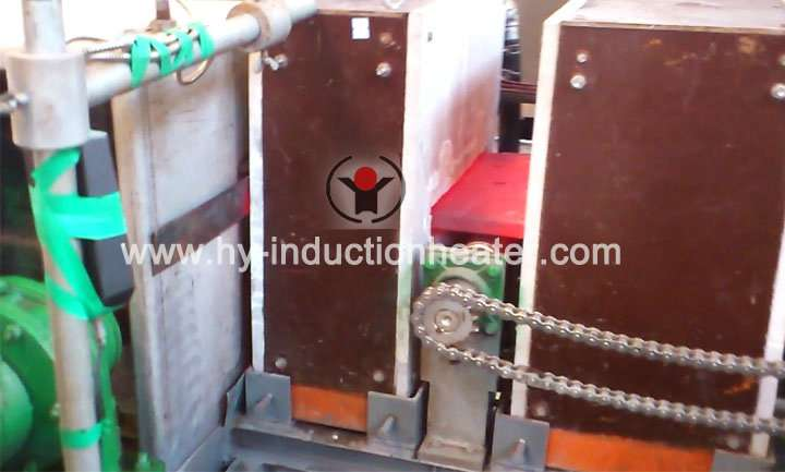 Steel slab heating equipment