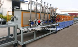 TMT bar heat treatment line