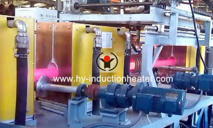 Tubing hardening and tempering line