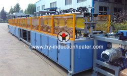Wind power bolt hardening and tempering line