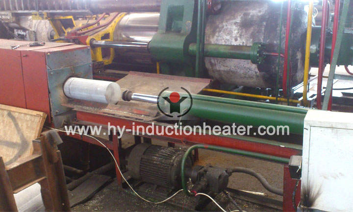 Aluminum heating furnace
