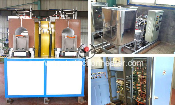 Aluminum induction heating