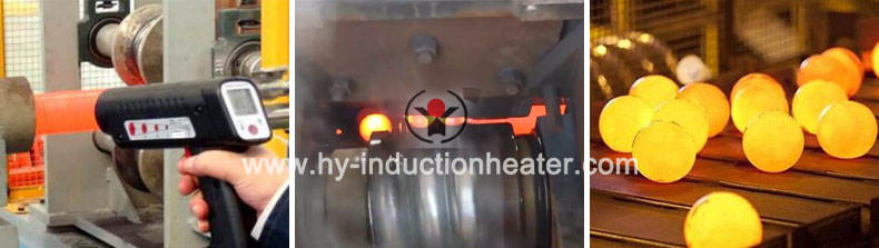 automatic 125 mm steel ball hot rolling