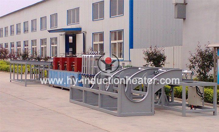 Steel bar hardening/quenching equipment