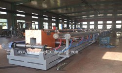 billet induction preheating furnace