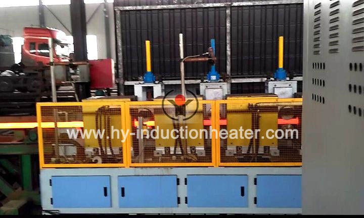 Copper hot rolling heating furnace