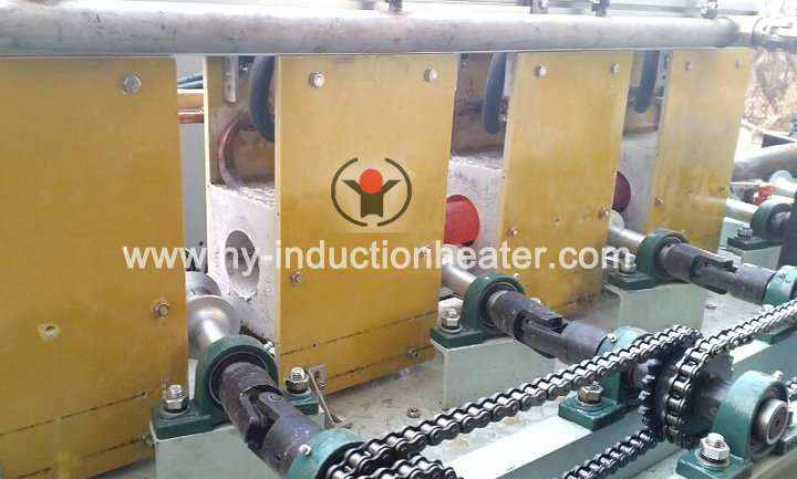 Copper induction heating furnace